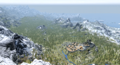 View from High Hrothgar