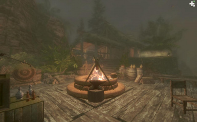 Dragonborn Bayview Player Home SE at Skyrim Special Edition