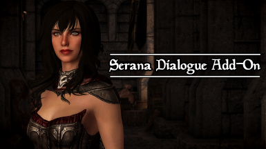 Serana Dialogue Add-On