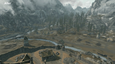 Optional Whiterun Exterior After