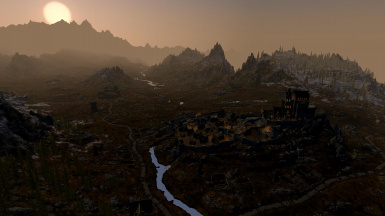 DynDOLOD Enhanced Lights and FX Exterior Whiterun