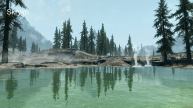 Water reflections Skyrim