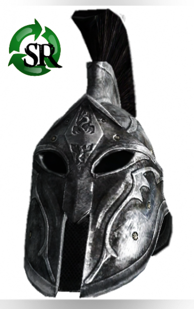 Recycle Ancient Nord Swords to make a nice shiny new Helmet