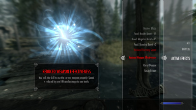 Weapon Skill Requirement