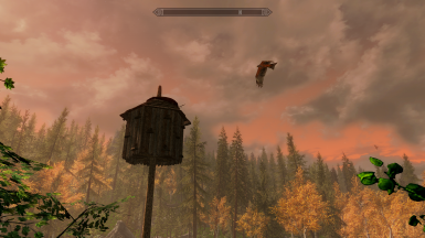 Books are hidden in some birdhouses