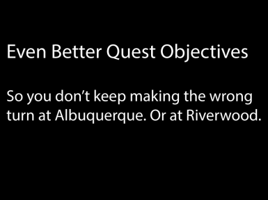 Even Better Quest Objectives SE - EBQO SE