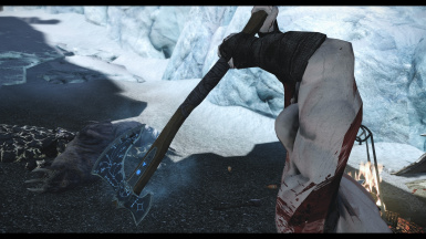 Leviathan Axe Realized and Kratos Follower