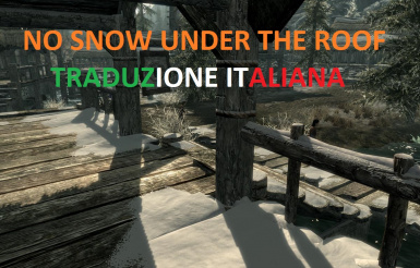 No snow under the roof - Traduzione Italiana