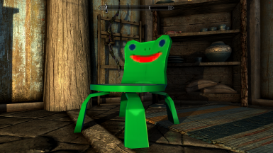 Froggy Chair At Skyrim Special Edition Nexus Mods And Community