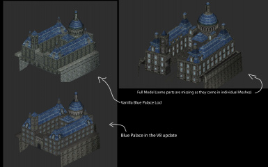 Solitude blue palace comparison