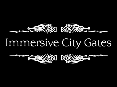 Immersive City Gates - JK Compatible - Cleaned