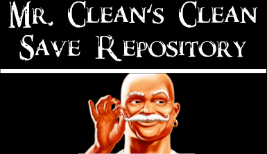 Mr. Clean's Clean Save Repository