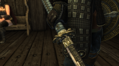 4K Matching Blades Sword And Scabbard