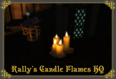 Rally's Candle Flames