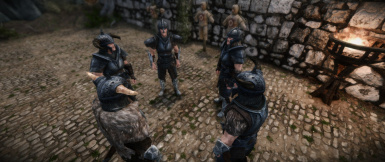 Steel Set example with Populated Skyrim mod