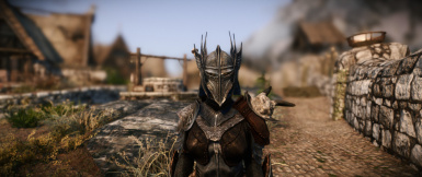 Improved closefaced helmets Add-on Female Orc