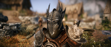 Improved closefaced helmets Add-on Male