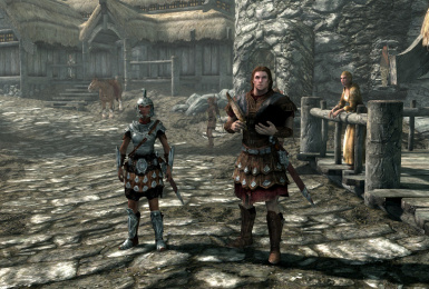 Redguard and Nord