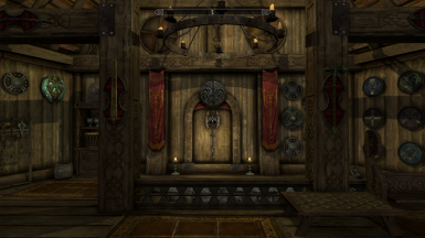 Wuuthrad And Shield Of Ysgramor Display