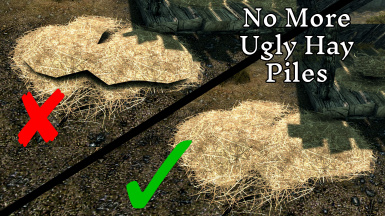 No More Ugly Hay Piles