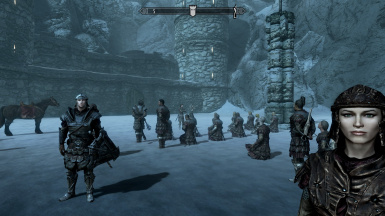 Glassmage Betis of the Bellatores Peritissimus, on the right. Using Total Character Makeover mod