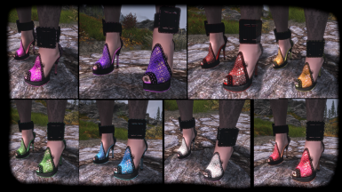 Emfy Cleric Heels Shoes ZMD Gothic Retexture 2k SE and LE