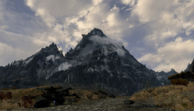 Scenic Skyrim Menu Re-placer with Randomizer