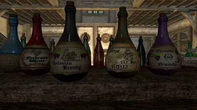 Original textures - picture from Unique Booze Bottles HD