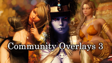 Community Overlay 3 (51- 70) Bodypaints Warpaints and Tattoos