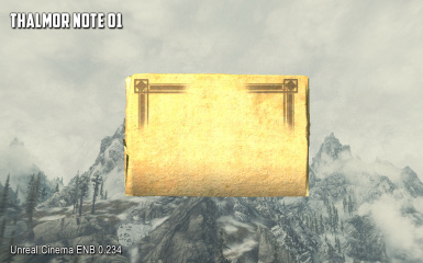 Note - Thalmor 01