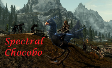 Spectral winged Chocobo