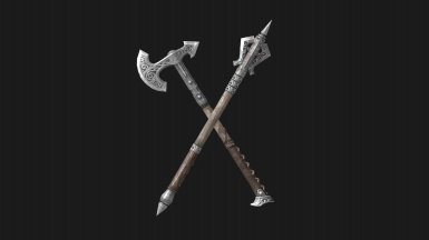 Slimmer axes and maces