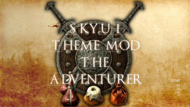 SkyUI The Adventurer Theme Mod SE