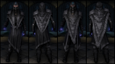 Black Archmage Ebony Armor (Light & Heavy)