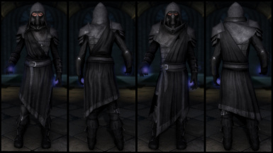Black Mage Ebony Armor (Light & Heavy)