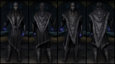 Black Archmage Plate Armor (Light & Heavy)