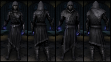Black Mage Plate Armor (Light & Heavy)