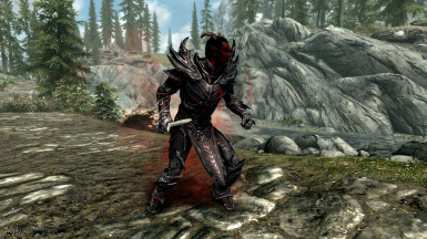 Red Aura: must be a dremora.