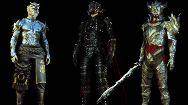 Elven Death Knight Armors Collection HDT SMP SE