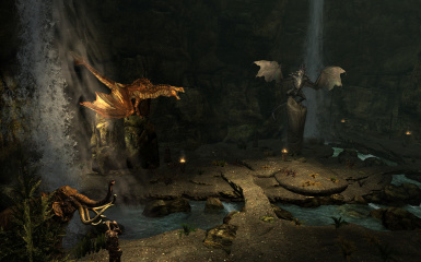 Display cavern