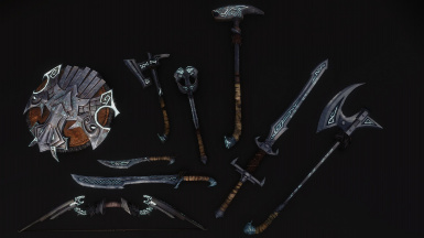 Runed Nordic Weapons (Replacer Version)