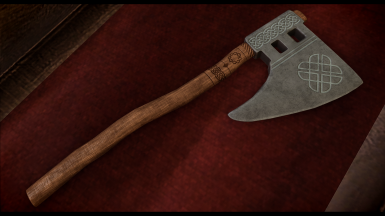 Nordic Hunting Axe (Placed inside interior | Photo credit: PraedythXVI)