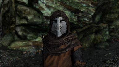 Dawnguard hooded helmet