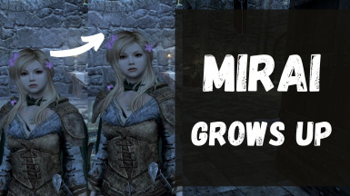 Mirai Grows Up