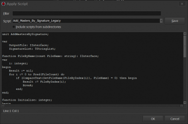 Legacy - xEdit Plugin Filter Script and Imperious Consistency Patch
