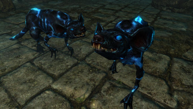 Daedrats and Dusk Panthers- Mihail Monsters and Animals (MIHAIL SSE PORT)