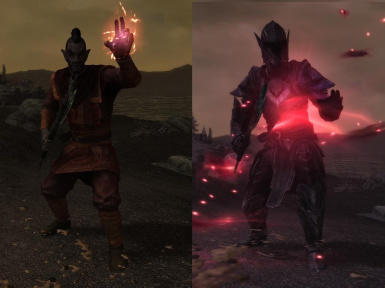 Bound Armors- Mihail Powers and Spells (MIHAIL SSE PORT)