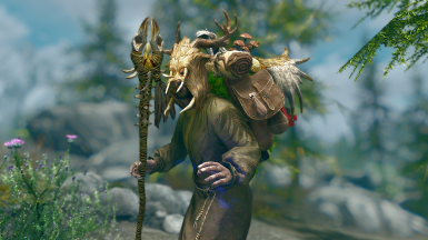 Druid Backpack - Mihail Armors and Clothes (MIHAIL SSE PORT)