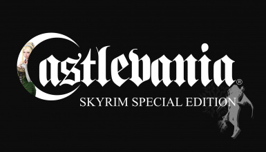 SKYRIM - MAIN THEME - REPLACER CASTLEVANIA - BLOODLINES - REINCARNATED SOUL