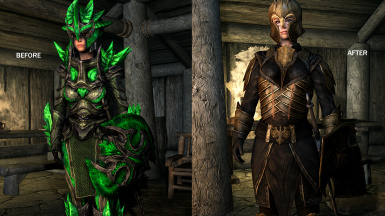 Optional Morrowind Glass armor replacer